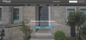 Millbrook Bed and Breakfast Swanage Home Page