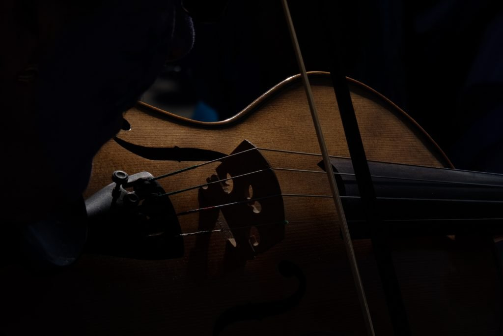 Fiddler at Swanage Folk Festival